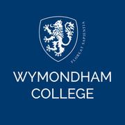Wym col white logo navy background