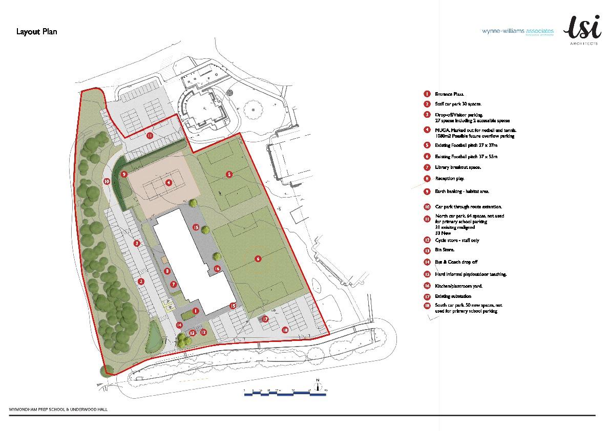 Wwa 1909 SK01 ITT Rendered layout plan